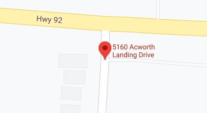 Map - Acworth, GA